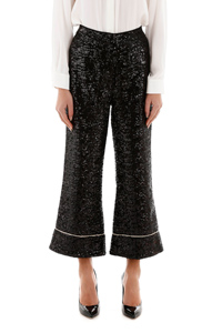 LOREN CROPPED PANTS BLACK