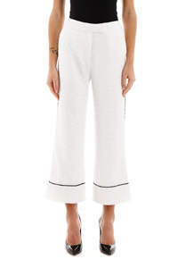 LOREN CROPPED PANTS WHITE
