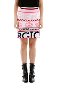 LOGO MINI SKIRT