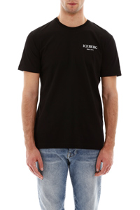 T-SHIRT OVER CON STAMPA LOGHI