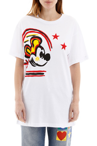T-SHIRT OVER CON STAMPA TOPOLINO