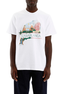 T-SHIRT CON STAMPA CASA VIEWS