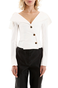 JACKET-TOP CON BOTTONI