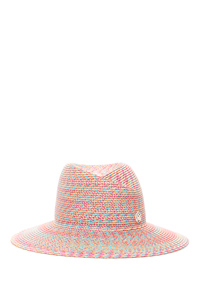 VIRGINIE MULTICOLOR RAFIA HAT