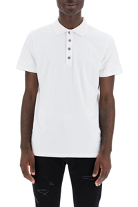 POLO SHIRT WITH EMBOSSED LOGO