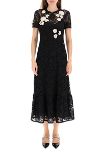 MACRAME LACE LONG DRESS