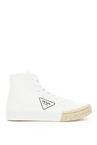 GABARDINE WHEEL HIGH SNEAKERS