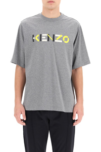 T-SHIRT WITH MULTICOLOUR LOGO