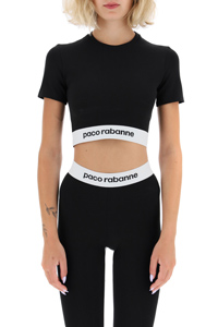 CROPPED TOP WITH LOGO