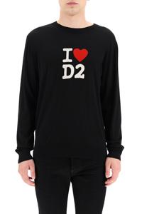 PULLOVER INTARSIO I LOVE D2