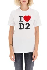 T-SHIRT STAMPA I LOVE D2