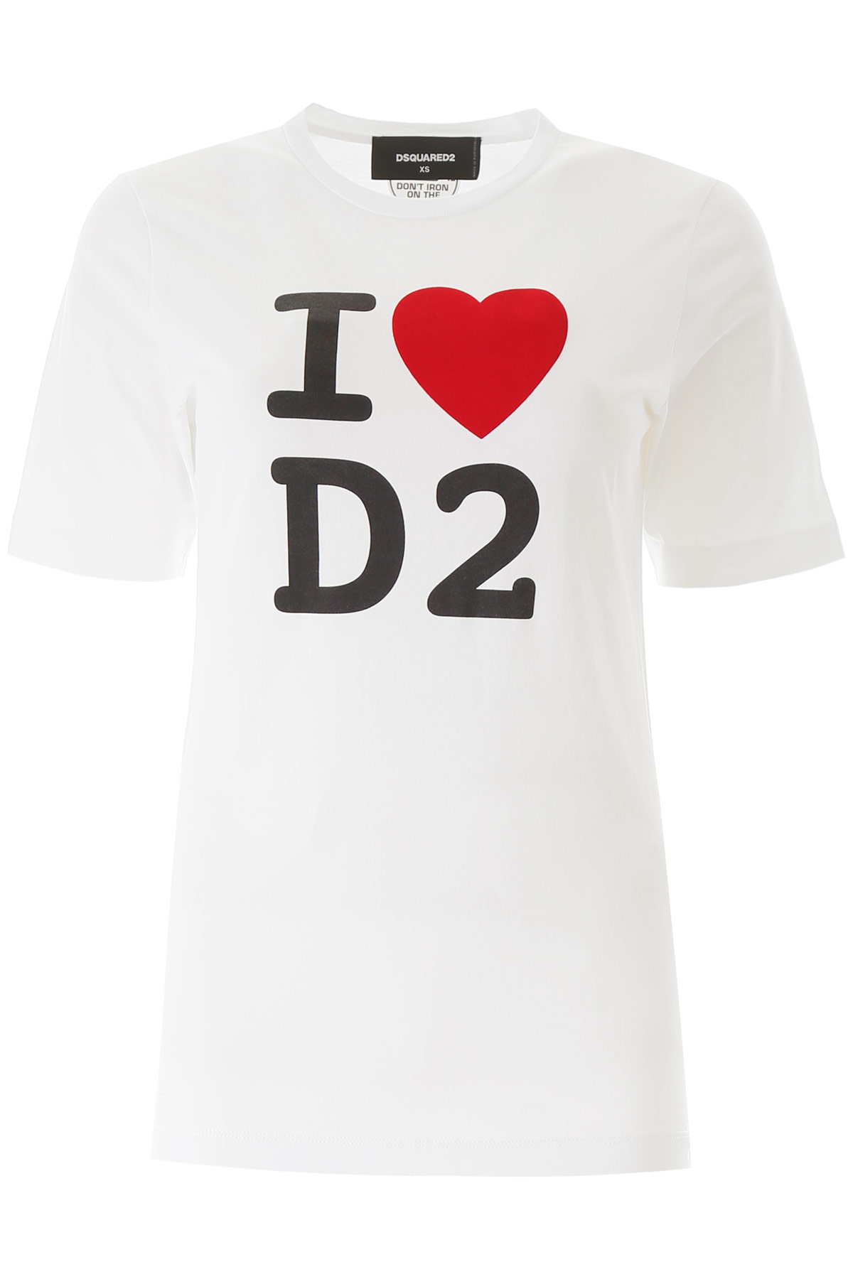 T-SHIRT STAMPA I LOVE D2
