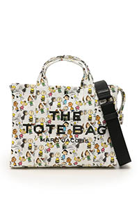 THE TOTE BAG SMALL PEANUTS X MARC JACOBS COLLABORATION