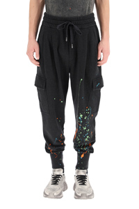 PANTALONE JOGGER COLOR DRIPPING