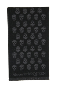 SCIARPA REVERSIBLE UPSIDE DOWN SKULL