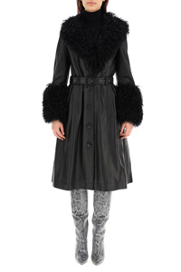FOXY SHEARLING BLACK