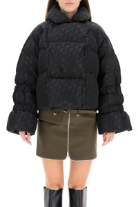DOWN JACKET ALL OVER SP LOGO