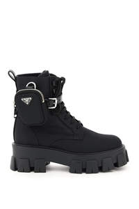 MONOLITH BOOTS WITH POUCH