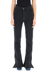 FLARED TRUMPET JEANS