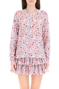 MARIA BLOUSE IN FLORAL COTTON