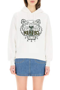 HOODIE WITH TIGER EMBROIDERY