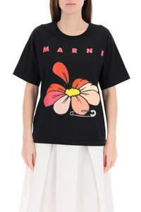 T-SHIRT MARNI FLOWERS