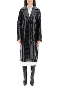 EMERSON COAT IN FAUX LEATHER
