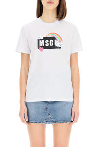 RAINBOW LOGO BOX T-SHIRT