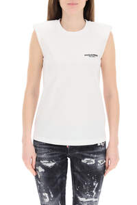 TOP WITH LOGO PRINT