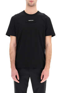 TWO-COLOR T-SHIRT WITH PATCH