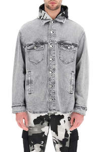 SHIRT-STYLE DENIM JACKET