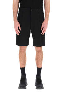 CARGO SHORTS WITH LOGO PATCH