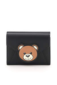 PORTAFOGLIO COMPATTO TEDDY BEAR