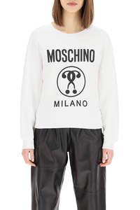 MOSCHINO MILANO LOGO PRINT SWEATSHIRT