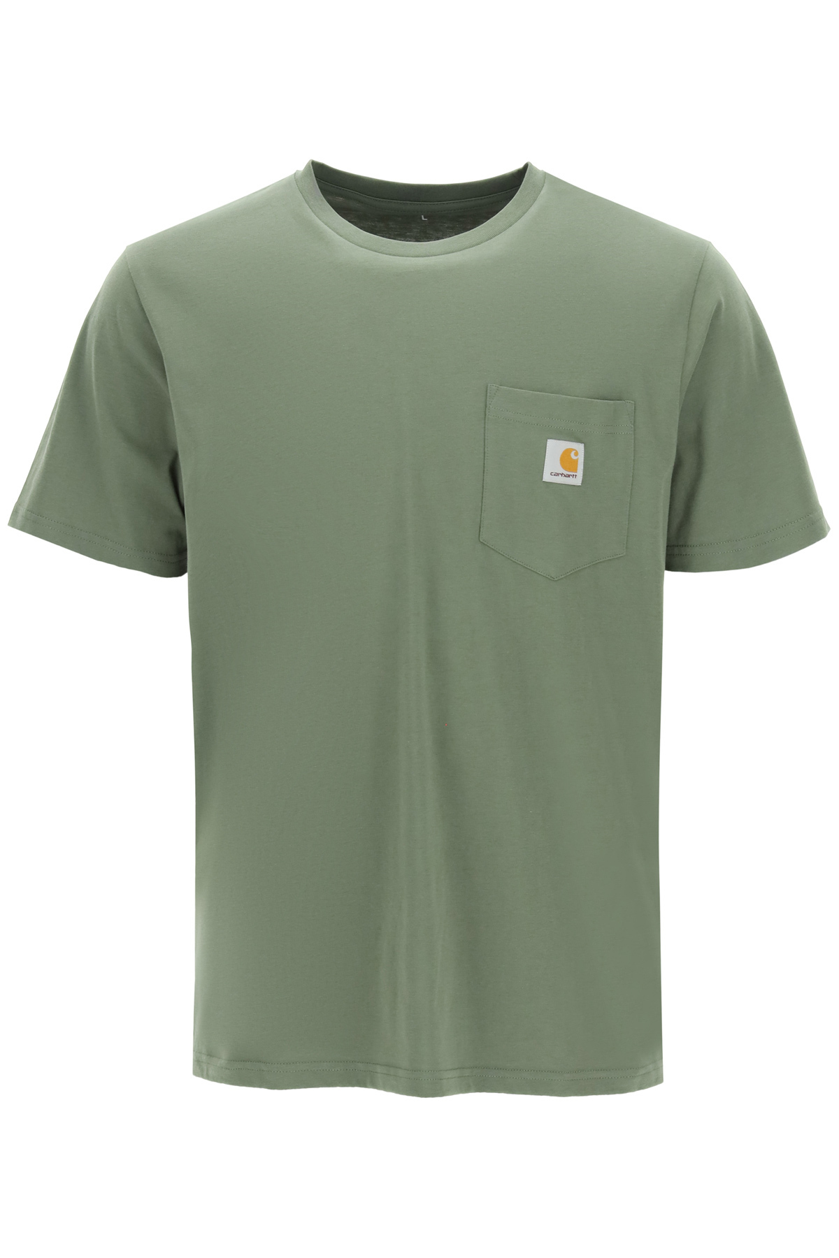 S/S T-SHIRT POCKET WITH LOGO PATCH