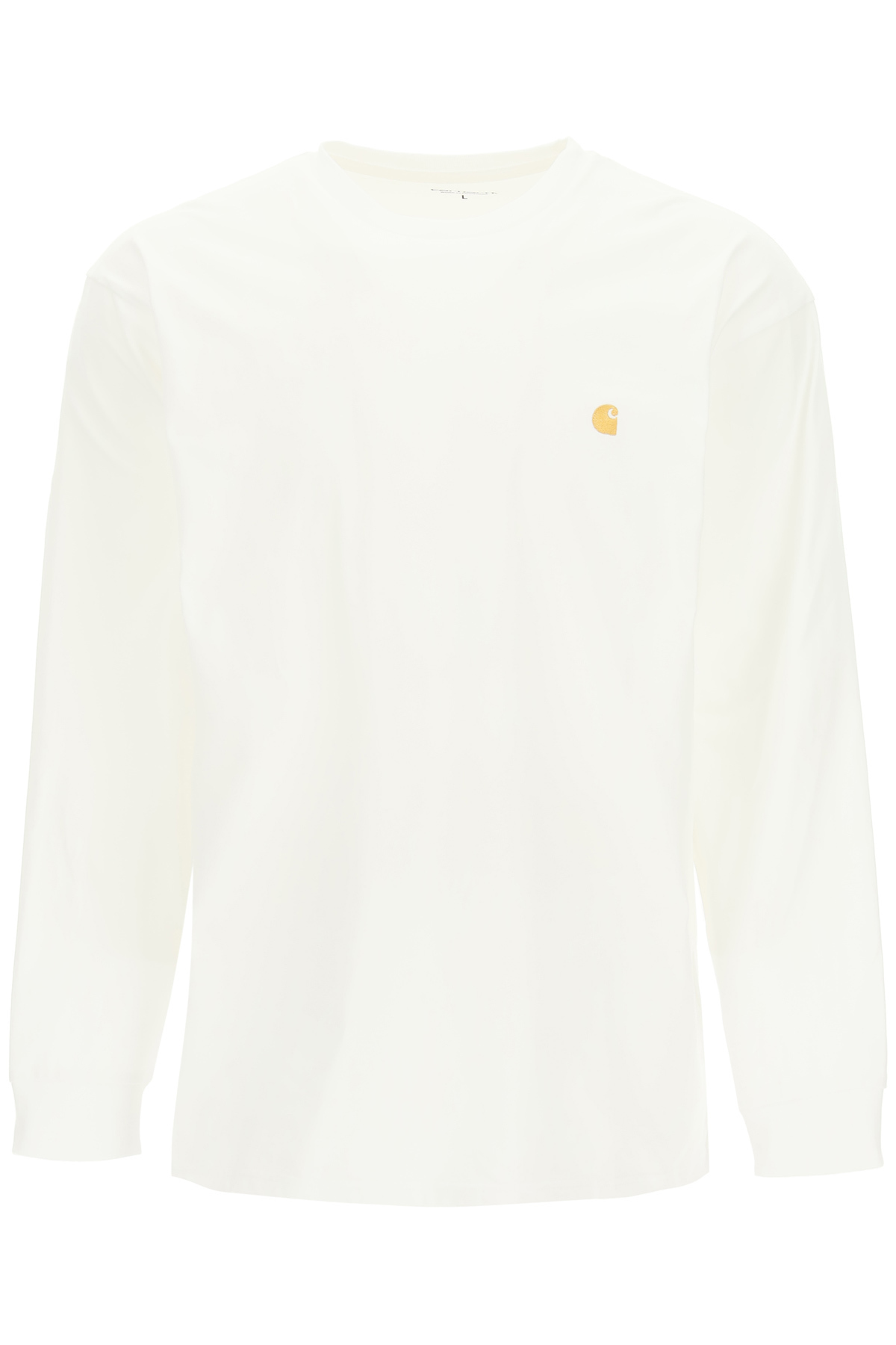 CHASE L/S T-SHIRT WITH LOGO EMBROIDERY