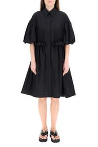 OVERSIZED SHIRT DRESS TWISTED HIP